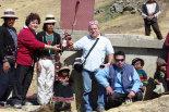I dottori F. Trampi e P. Vezzani il giorno della inaugurazione (giugno 2009)